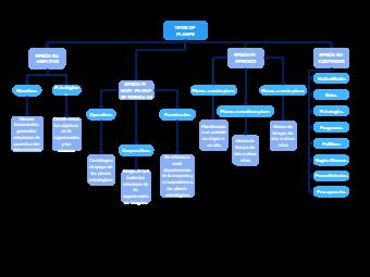 Types of Plans Diagram