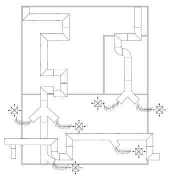Plumbing And Piping Plan Example