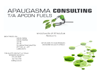 Fuel Company Marketing Material
