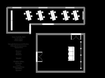 Gallery Studio Floor Plan