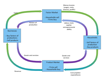 Money and Products Circular Flow