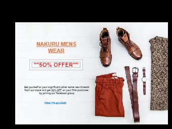 Shoe Promotion Banner