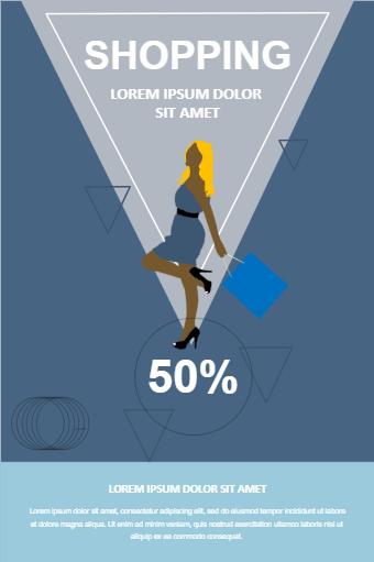 Fashion Shopping Poster