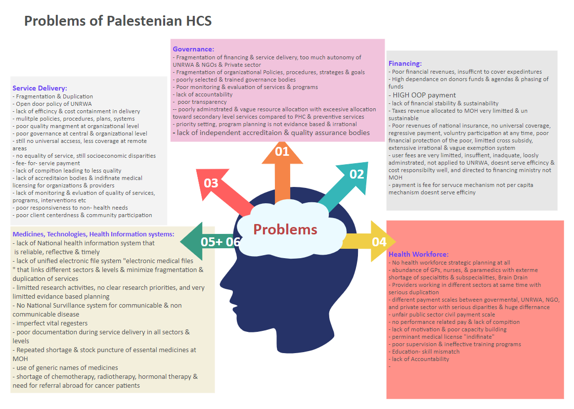 Problems of Palestenian HCS