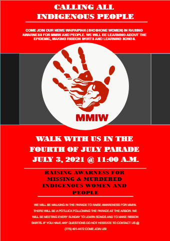 Fourth of July Parade Flyer