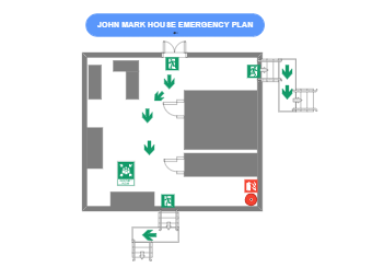 John Mark House Emergency Plan