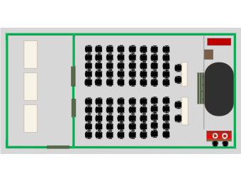 UC Theater Layout