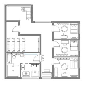 2nd Floor House Plan
