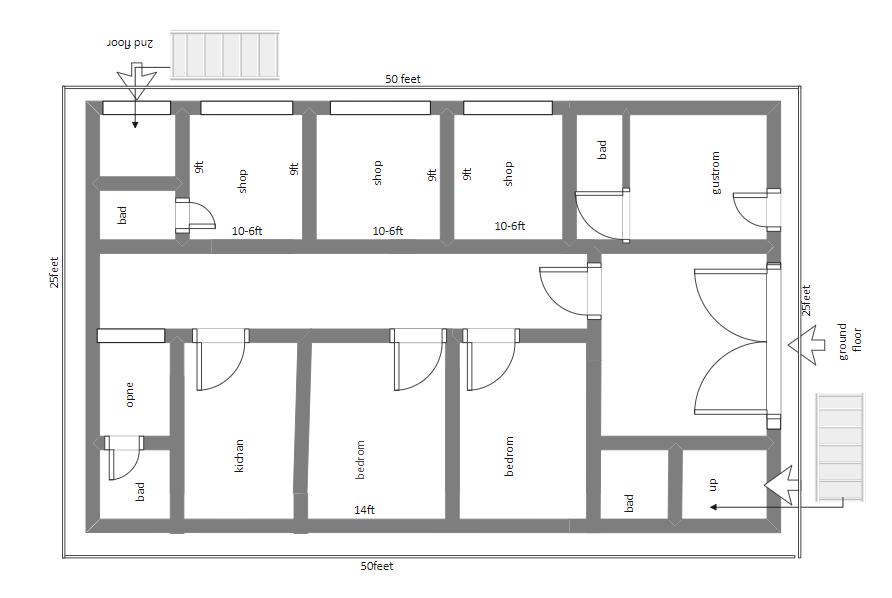 The Mall Floor Plan