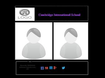School Website Wireframe