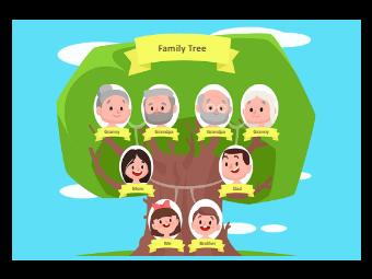 Cute Family Tree