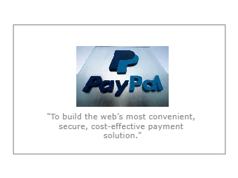PayPal Mission Statement