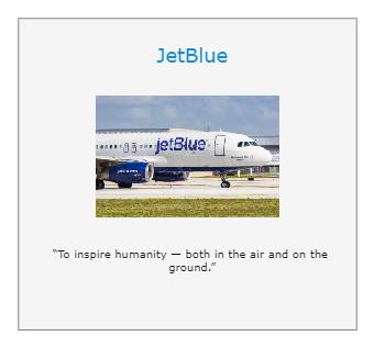 JetBlue Mission Statement