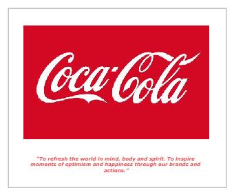 Coca-Cola Mission Statement