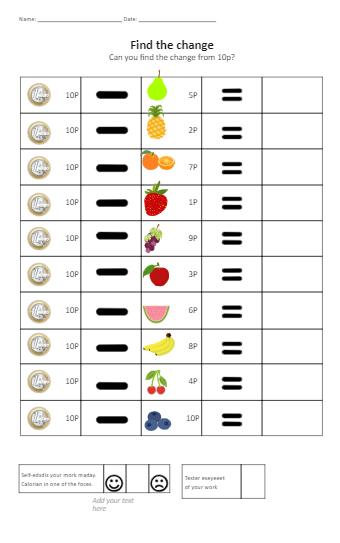 Count Teaching Worksheet