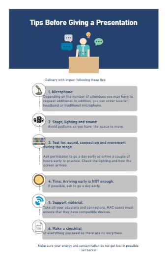 Tips for Presentation