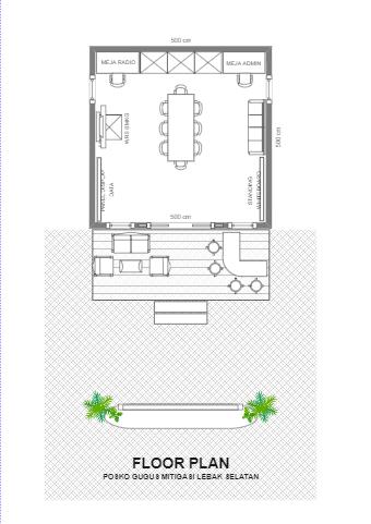 Denah Floor Plan