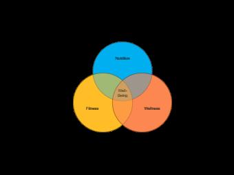 Personal Well Being Venn Diagram