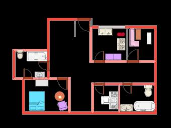 Floor Plan for School Activity