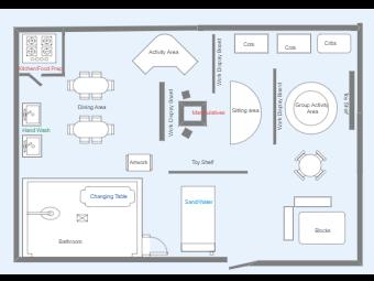 Day Care Floor Plan