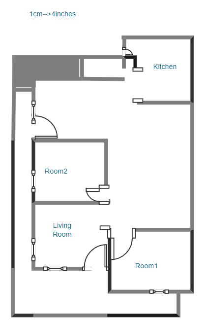 1st Project Floor Plan