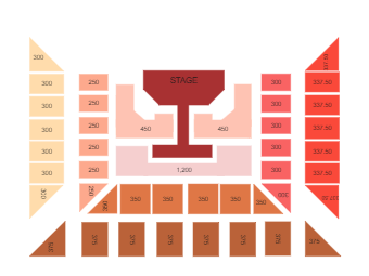 Stage Seating Chart