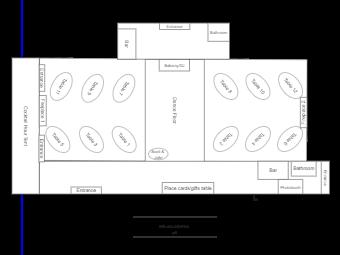 SJ Wedding Seating Plan