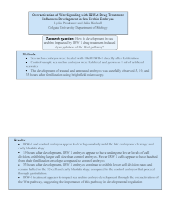 Poster Data Presentation
