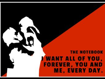 Valentine's Day Movie Card - The Notebook