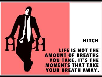 Valentine's Day Movie Card - Hitch