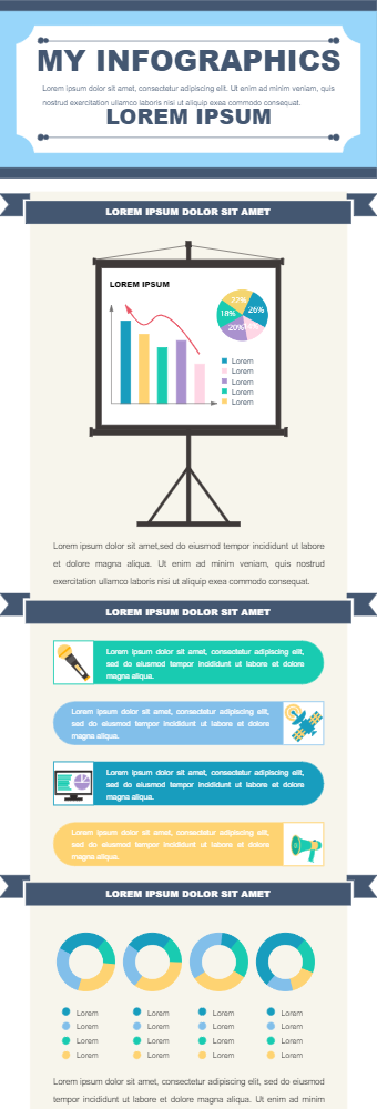 Music And Media Infographic