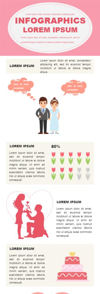 Valentines Day Inforgraphic