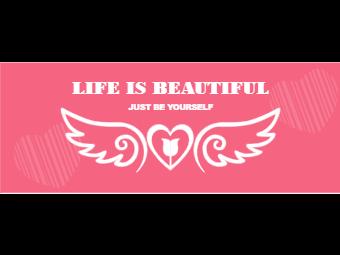 Angel Wings Facebook Cover