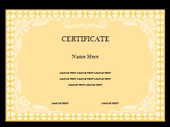 Award Certificate Poster