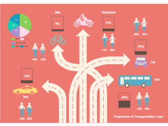 Transportation Selection Infographic