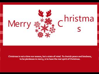 Christmas Festival Card
