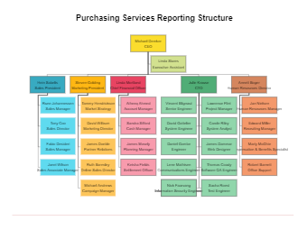Company Structure Org Chart