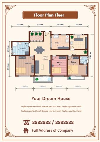 Floor Plan Flyer
