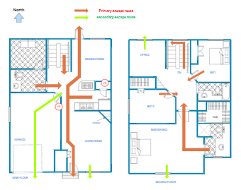 Primary and Secondary Escape Plan