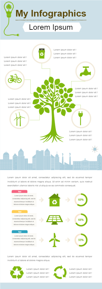 Nature Conservation Infographic
