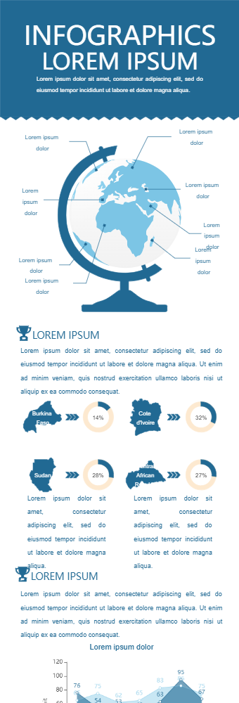 Global Growth Infographic