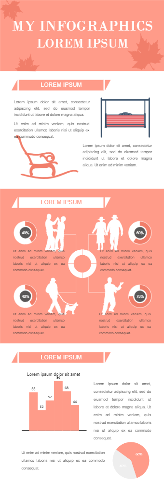 Old Age Recreational Activities Infographic