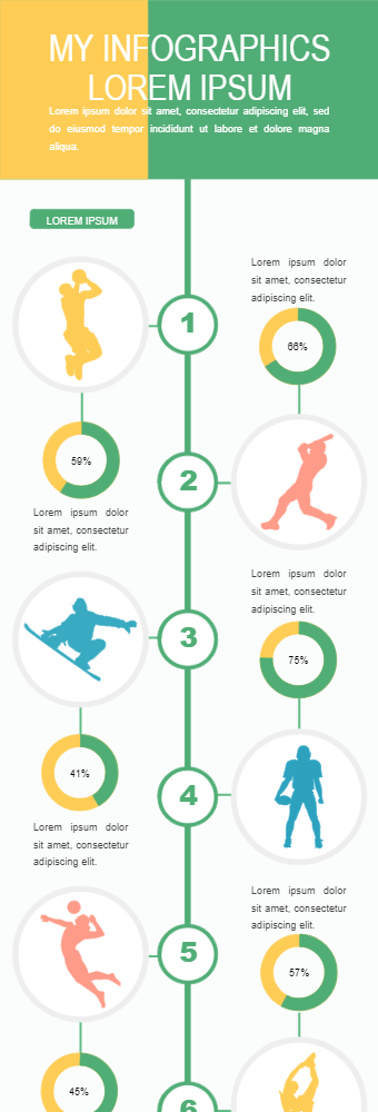 Games' Popularity Infographic