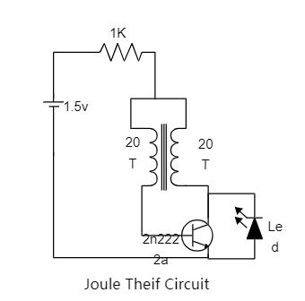 Joule Theif Circuit Diagram