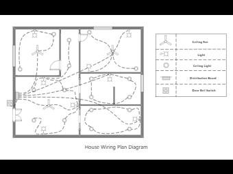 House Wiring Plan Diagram 1