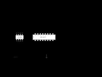 LED Chaser Light Circuit